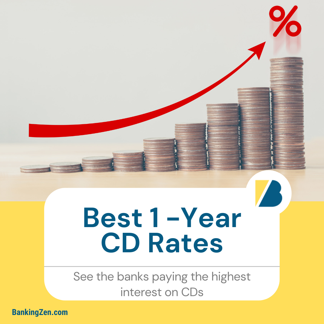 """Best 1-Year CD Rates Today"""